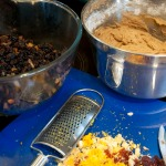 Christmas cake ingredients