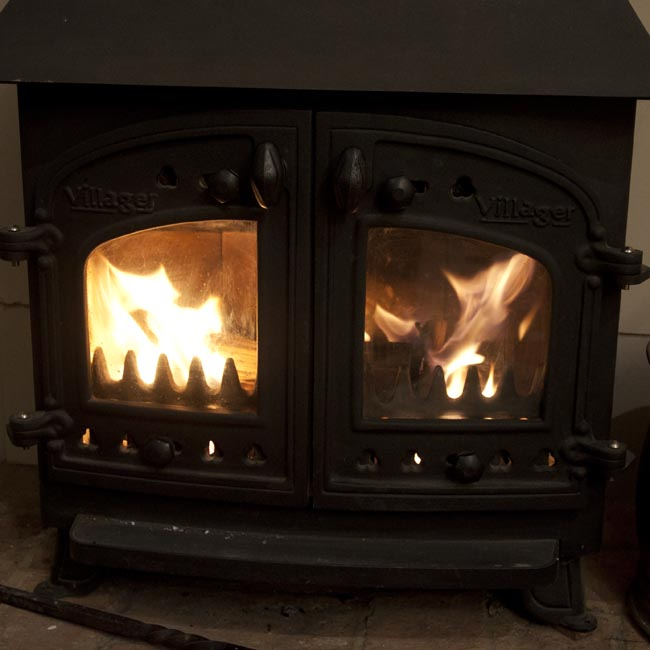 Heat And Light How To Clean The Glass On A Wood Burning Stove Country Skills For Modern Life