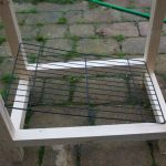 Smoker frame, size relative to rack