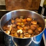 Stewing medlars