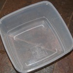 Large tupperware box