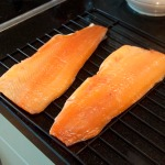 Trout, fresh from the smoker