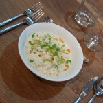 Thai crab risotto