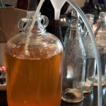 Racking cane in the demijohn