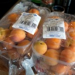 Fresh French apricots