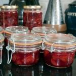 Jam, in jars