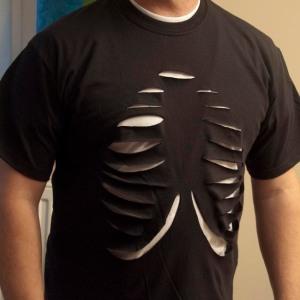 Halloween Rib Cage T-shirt