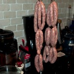 Linked sausages