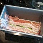 Bacon in tin