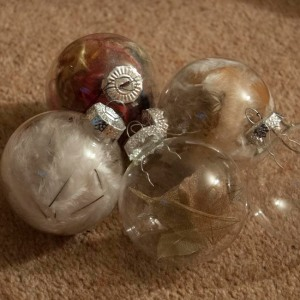 Filled baubles
