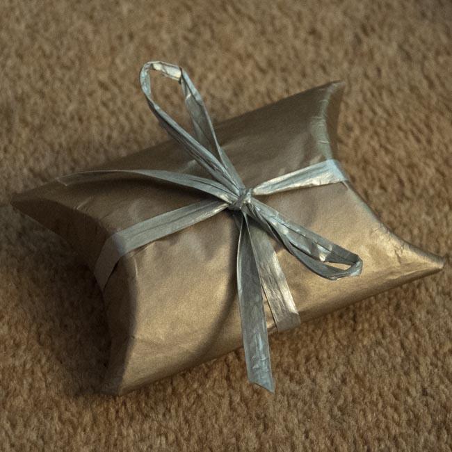 Finished wrap