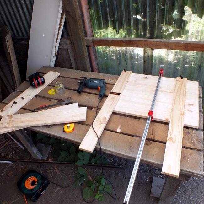 Assembling the doorlet