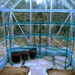Greenhouse staging 'installed'