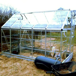 Completed greenhouse