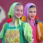 Russian folk-dancers