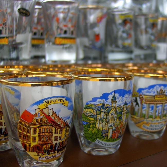 Euro shot glasses