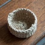 Jute Basket inside