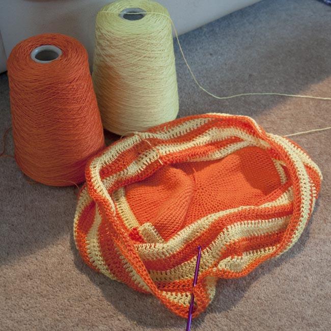 String bag - work in progress