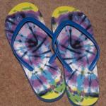 The flip-flops.
