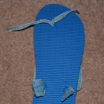 Straps on sole-side