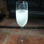 A chilled fizzy glass of summer!