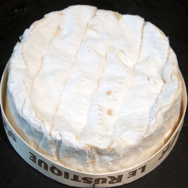 Unwrapped camembert