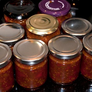 Lovely jars of chutney