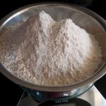 White & rye flour