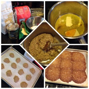 oat biscuits - tile
