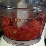 Chop in food processor