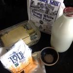 Milk loaf ingredients
