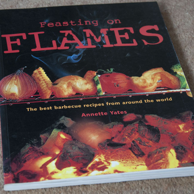 Feasting on Flames - cover