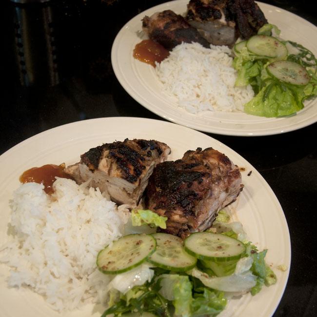 Serve your tikka chicken