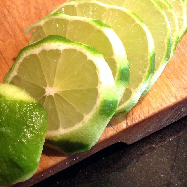 Slice lime