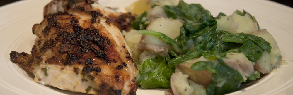 Mustard rosemary chicken
