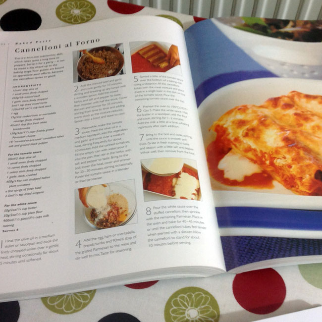 Pasta - inner page view