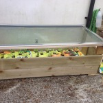 Recycled cold frame